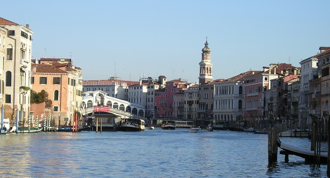 Venice by boat: the Grand Canal