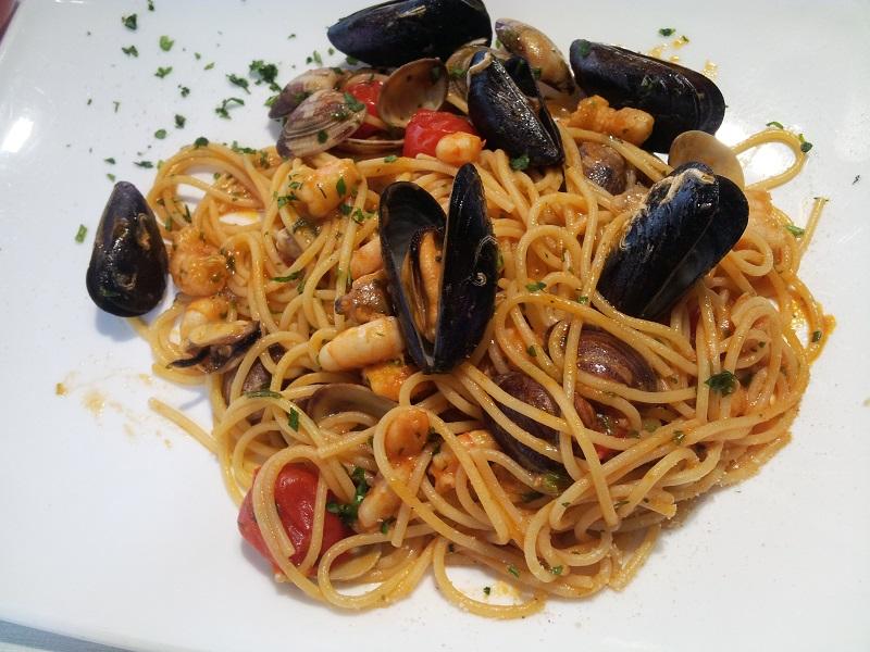 spaghetti pescatora