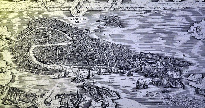 mapp De Barbari Venezia